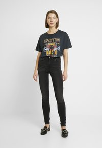 Levi's® - 721 HIGH RISE SKINNY - Jeansy Skinny Fit - shady acres - 1