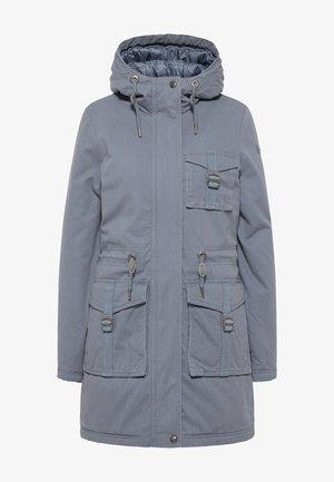 Płaszcz zimowy - graublau
