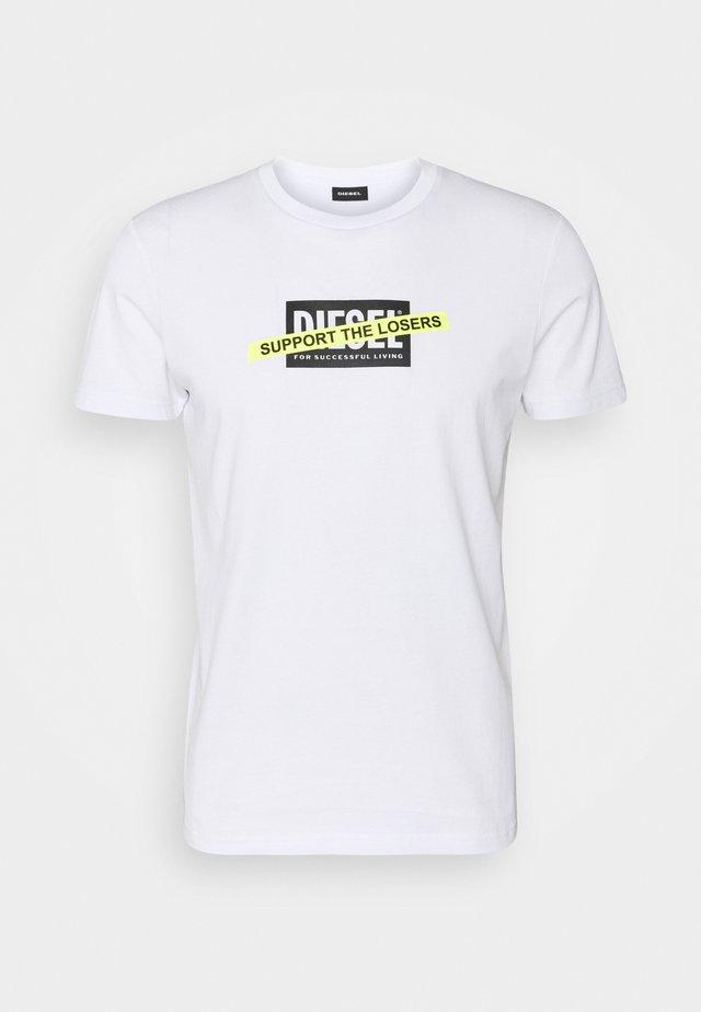 T-DIEGOS-A3 MAGLIETTA - T-shirt con stampa - white