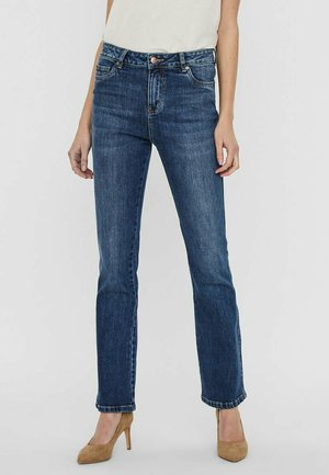 Jeans a zampa - medium blue denim
