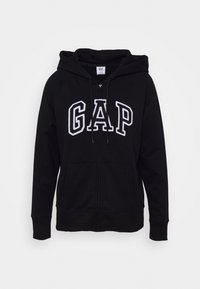 GAP - Zip-up hoodie - true black - 0