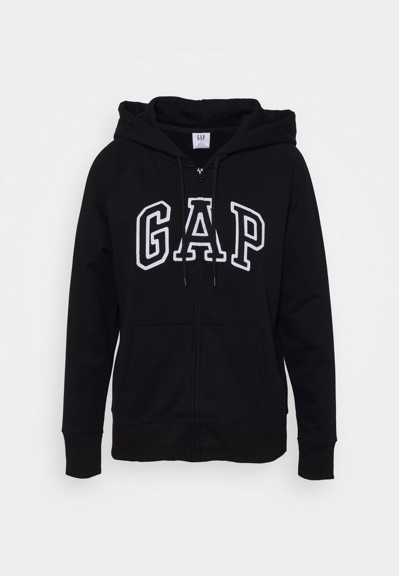 GAP - Zip-up hoodie - true black