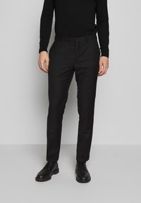 Limehaus - SUIT SLIM FIT - Costume - black - 5