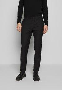 Limehaus - SUIT SLIM FIT - Suit - black - 5