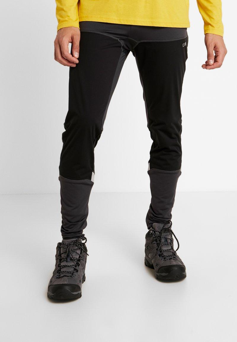 CMP - MAN LONG TIGHTS - Kalhoty - antracite