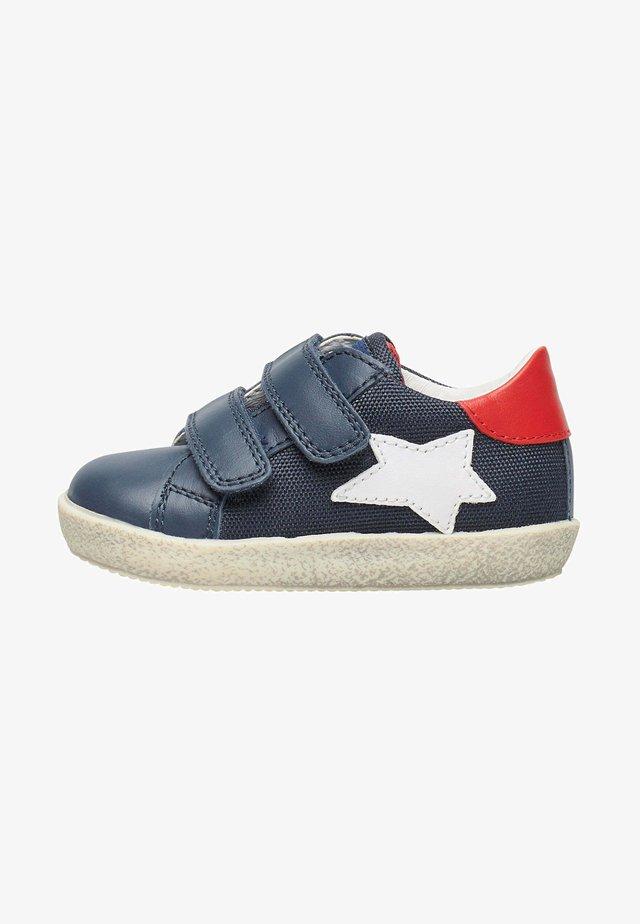 ASPASIA - Touch-strap shoes - blau