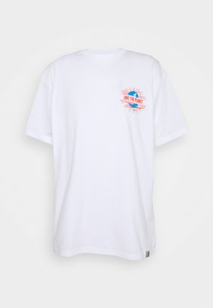 LOVE PLANET - T-shirt imprimé - white
