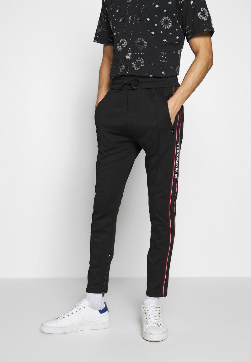 The Kooples - Pantaloni sportivi - black