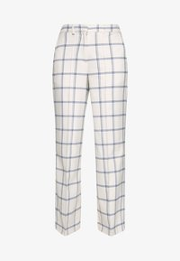 NELLY TROUSERS - Trousers - blau/weiß