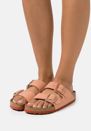 ARIZONA EARTHY VEGAN - Sandalias planas - faded rust