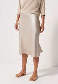 someday. - A-line skirt - beige - 0