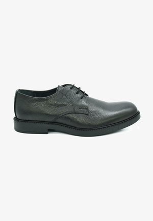 HAND MADE GENUINE - Lace-ups - casual black