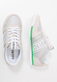 Bikkembergs - ENRICUS - Sneakersy niskie - pearl grey - 1