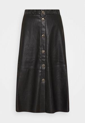 ONLSAGA SKIRT - A-line skirt - black