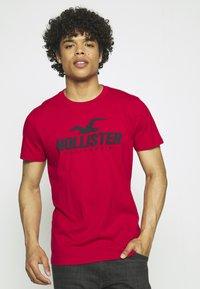 Hollister Co. - WEBEX SPORT 5PACK - Print T-shirt - multi - 5