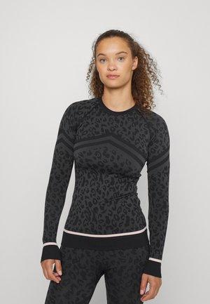 BETTY SKI BASE  - Long sleeved top - grey