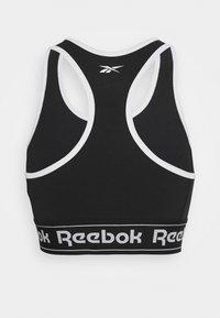 Reebok - LINEAR LOGO BRALETTE - Sports-bh'er - black - 1