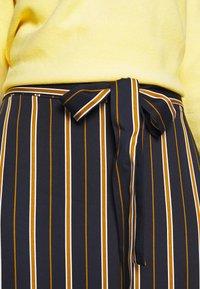 Marc O'Polo - SKIRT FEMININE SILHOUTTE  - A-line skirt - multi/ night sky - 4