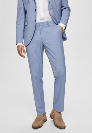 Suit trousers - colony blue