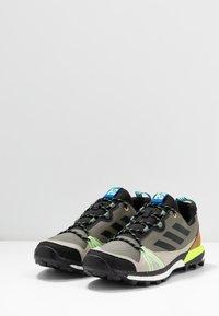 adidas Performance - TERREX SKYCHASER  - Hiking shoes - legend green/core black/signal green - 2