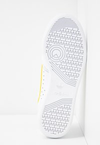 adidas Originals - CONTINENTAL 80 - Sneakers - footwear white/yellow/semi frozen yellow - 6