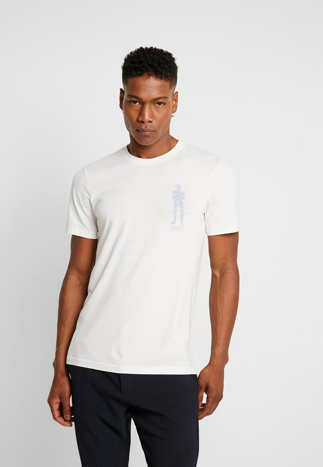 SHAKRA GUY - Camiseta estampada - off-white