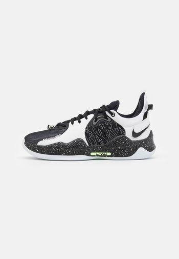 PG 5 - Chaussures de basket - black/white-volt