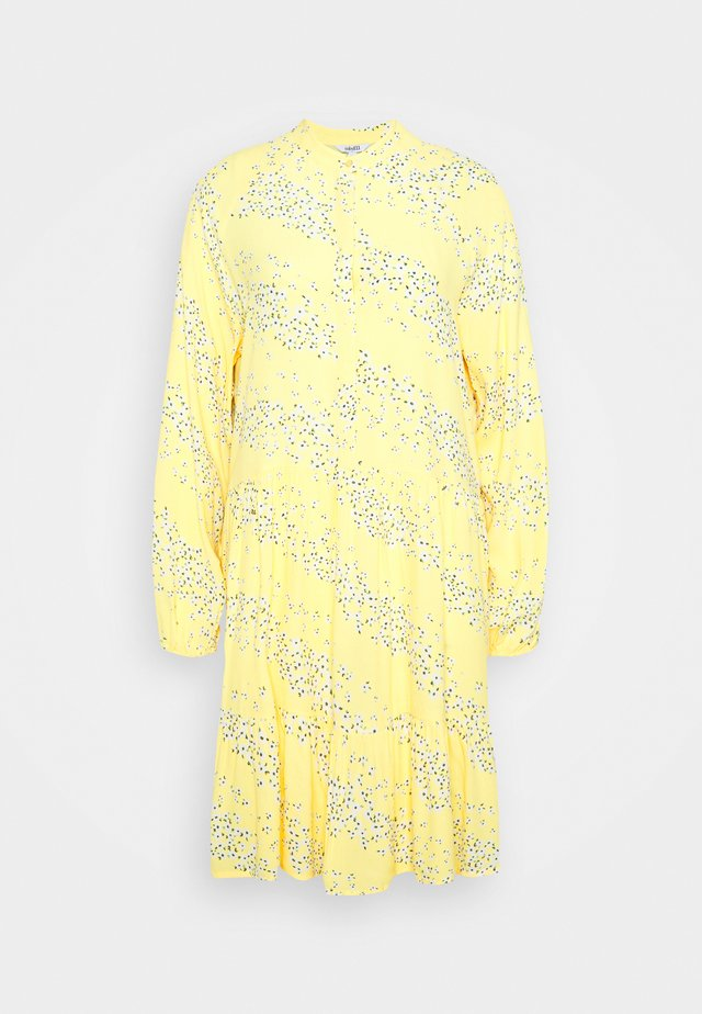MARRANIE - Shirt dress - sereia yellow