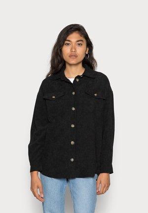 SAVISA - Button-down blouse - black