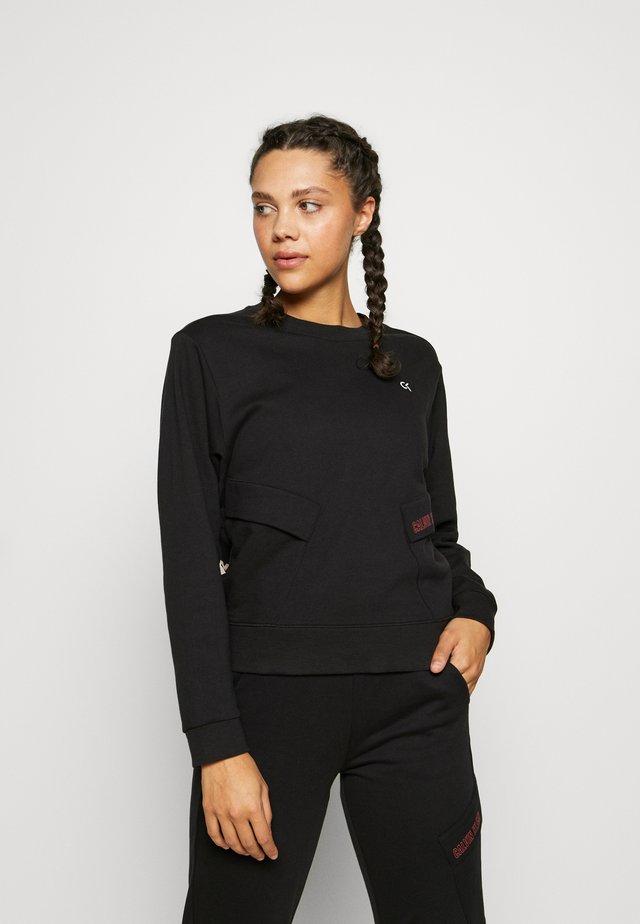 PULLOVER - Sweatshirt - black