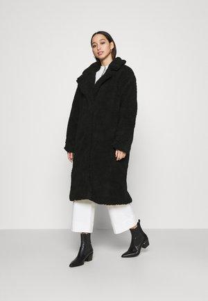 TEDDY  - Classic coat - black