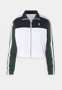 Björn Borg - MAGGIE TRACK JACKET - Training jacket - stripe blocking - 0