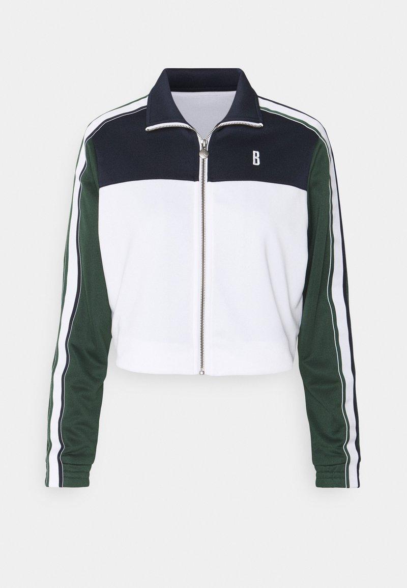 Björn Borg - MAGGIE TRACK JACKET - Training jacket - stripe blocking