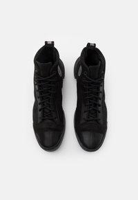 Converse - DISTORT UNISEX - High-top trainers - black/gunmetal - 5