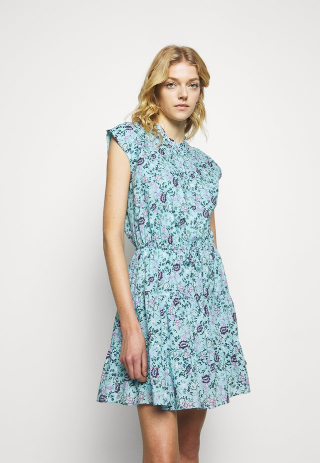 OLLIE DRESS - Robe d'été - blue/multi