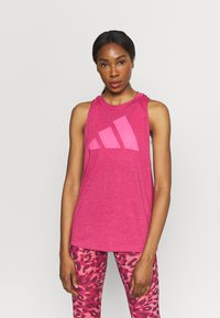 adidas Performance - WIN TANK - Top - wild pink - 0