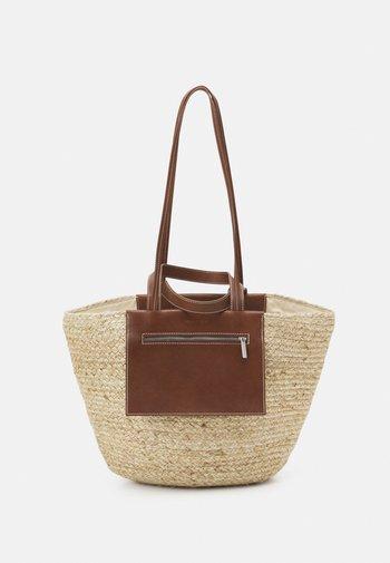 LICA - Tote bag - maroon brown