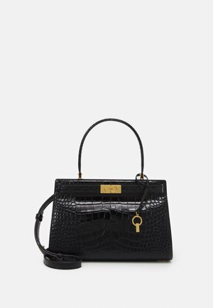 LEE RADZIWILL EMBOSSED SMALL BAG - Borsa a mano - black