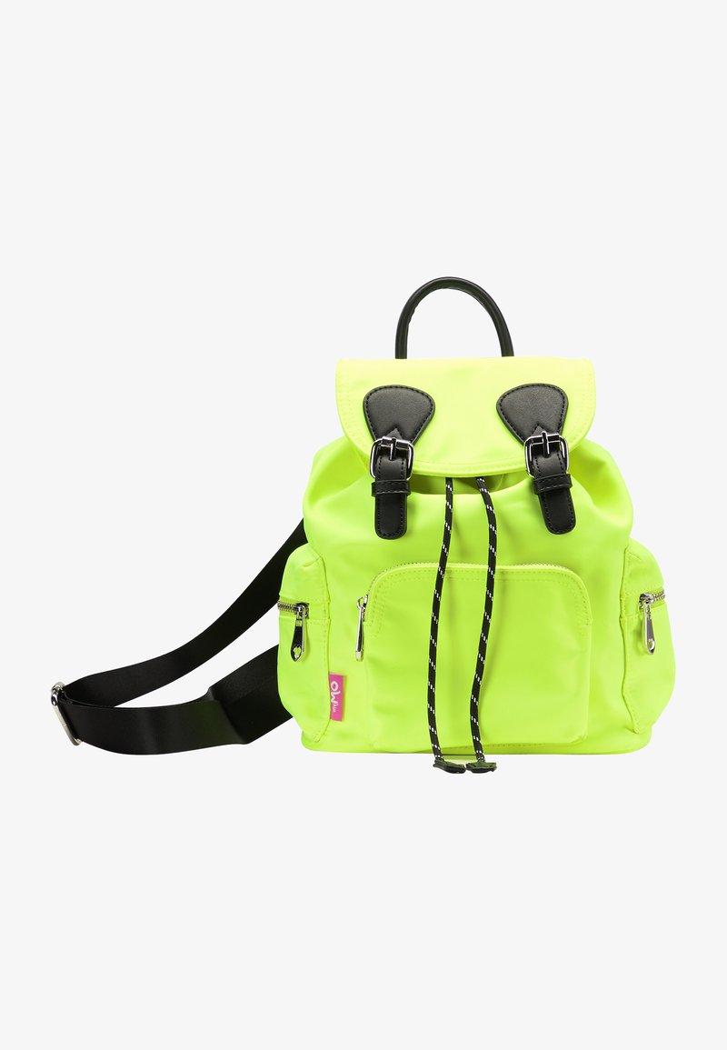 myMo - Rucksack - neon yellow