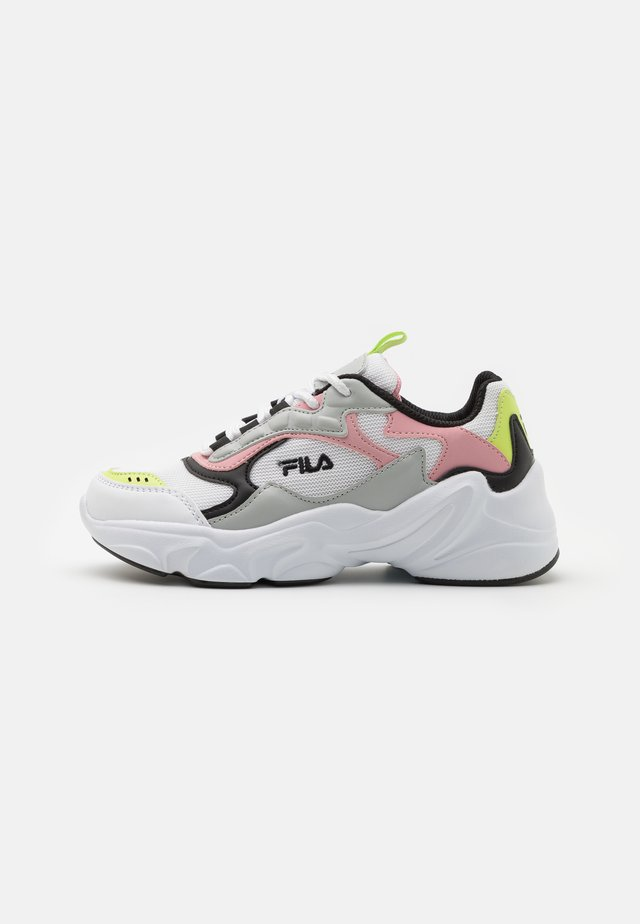 COLLENE JR - Sneakers laag - white/coral blush
