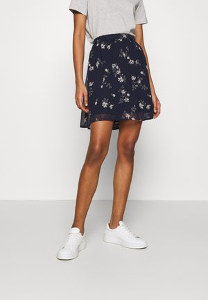 VMFALLIE SHORT SKIRT  - Minigonna - navy blazer