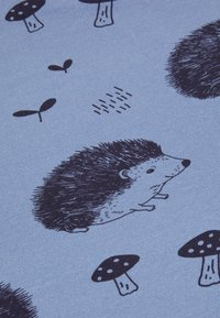 Walkiddy - BLANKETHAPPY HEDGEHOGS UNISEX - Tappetino per neonato - blue - 2