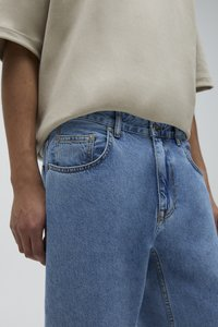 PULL&BEAR - Jeans a sigaretta - light blue