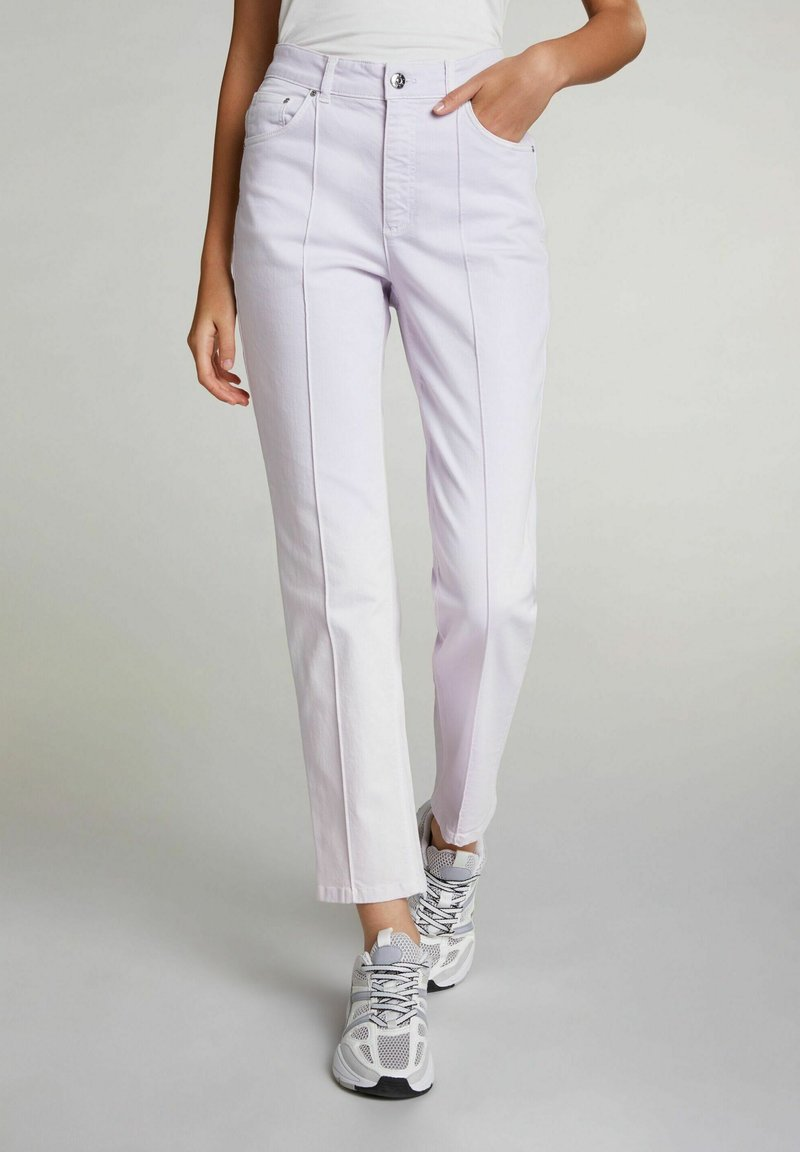 Oui - Trousers - orchid hush