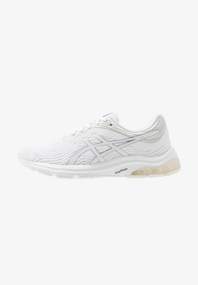GEL-PULSE 11 - Neutral running shoes - white/pure silver