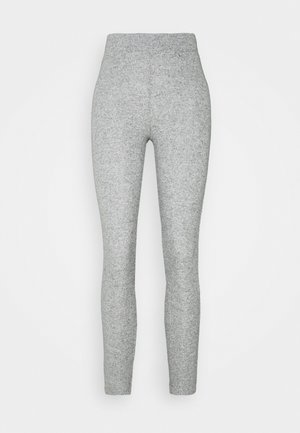 SOFT BRUSH - Leggings - Trousers - grey