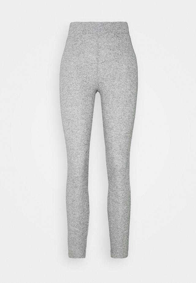 SOFT BRUSH - Legging - grey