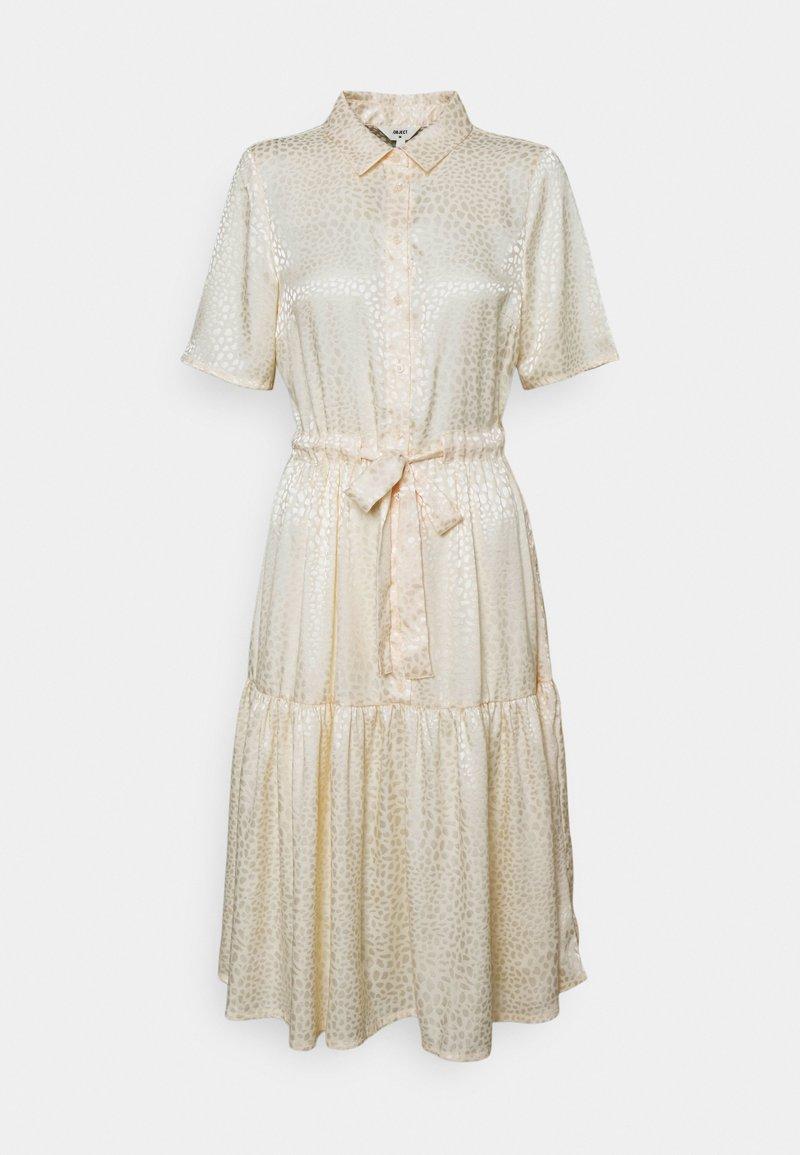 Object - OBJYALANDA DRESS  - Abito a camicia - sandshell