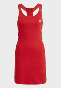 adidas Originals - RACER DRESS - Robe en jersey - scarlet - 7