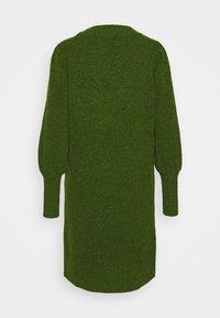 Selected Femme - SLFLINNA NEW DRESS O NECK - Jumper dress - twist of lime - 1